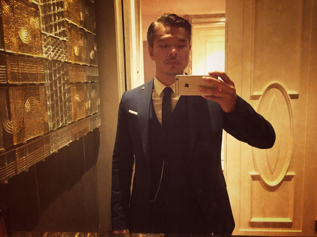 Vissay blue suit